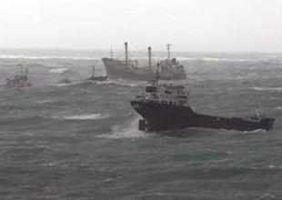34 gemi Şarköy açıklarına demirledi