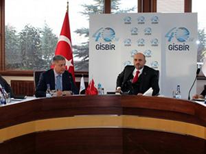 Tersaneler ve Kıyı Yapıları Genel Müdürü Hızırreis Deniz'den GİSBİR'e ziyaret