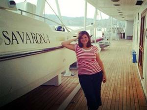 Aybike kaptan ekvatoru gemiyle 10 kez geçti