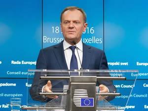 Donald Tusk: Mart başında sığınmacı kriziyle ilgili AB-Türkiye Zirvesi yapılacak