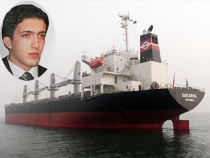 Ahmet Burak Erdoğan'a ait M/V SAKARYA isimli kuruyük gemisi Rusya'da 5 gün alıkondu