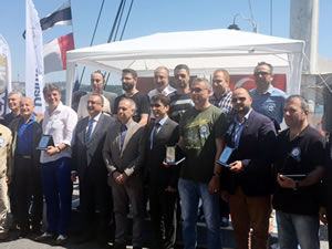 Ziya Kalkavan Anadolu Denizcilik Meslek Lisesi mezunları buluştu