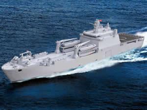 ADİK Tersanesi, TCG Sancaktar'ı denizle buluşturuyor