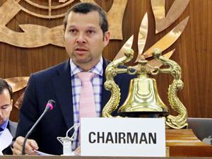 IMO-MEPC Başkanı Büyükelçi Arsenio Dominquez, Altın Çıpa'ya katılacağını açıkladı