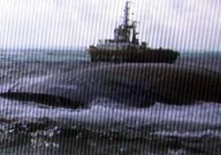 Batan geminin son görüntüsü