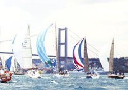 SABAH rüzgarıyla yelkenler fora
