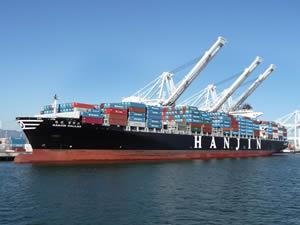 Hanjin 45 milyon dolar kredi buldu, mahsur kalan gemiler limanlara yanaştı