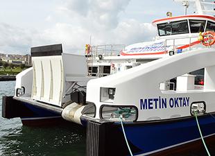 Özata Tersanesi, Metin Oktay isimli yolcu gemisini İzmir Büyükşehir Belediyesi'ne teslim etti