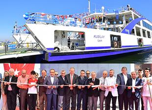 İzmir Büyükşehir Belediyesi 3 gemiyi daha hizmete aldı