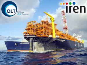 İren Group, FSRU TOSCANA isimli yüzer LNG Terminali'ndeki hisselerini satışa çıkardı