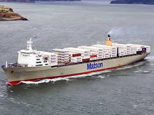 ABD merkezli Matson, Japonya'ya yeni bir hat açıyor