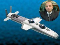 Mubariz Mansimov Gurbanoğlu, sahibi olduğu mini denizaltıyı Azerbaycan Devleti'ne bağışladı