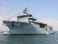 TCG Alemdar, Deniz Kuvvetleri Komutanlığı'na teslim ediliyor
