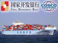 COSCOCS, Çin Kalkınma Bankası ile 26 milyar dolarlık finansman anlaşması imzaladı