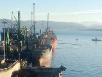 İzmit Körfezi'ndeki yakıt sızıntısı kontrol altına alındı