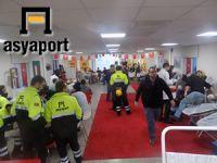 Asyaport, personeli kan bağışı için sıraya girdi