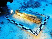 Deniz arkeologları, Bozburun'da tanrıça heykeli buldu