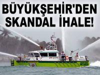 İBB İtfaiye Müdürlüğü'nden 'ADRESE TESLİM' skandal ihale!