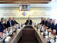 KOSDER Yönetim Kurulu, UDH Bakanı Ahmet Arslan'ı makamında ziyaret etti