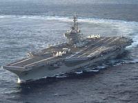 Dünyanın en büyük uçak gemisi USS George H.W. Bush kapılarını AA ekibine açtı