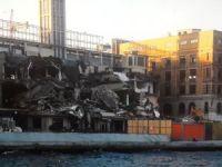Galataport'a suç duyurusu: Binalarda çatlak ve hasarlar oluştu