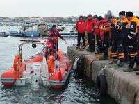 Altınova Tersaneler Bölgesinde, deniz kazası tatbikatı yapıldı