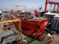 Tuzla'da inşa edilen gemiler rotasını dünyaya çevirdi