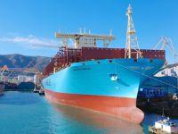 Maersk Line, dünyanın en büyük konteyner gemisini filosuna kattı