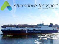 Türkiye'nin en büyük Ro-Ro gemisi M/V MELEQ, Alternative Transport'a teslim edildi
