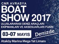 """""""CNR Avrasya Boat Show"""" denize taştı!"""