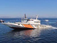 Çeşme'de dalış turizmi için sahil güvenlik gemisi batırıldı