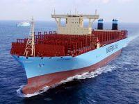 Dünyanın en büyük taşıma kapasiteli konteyner gemisi MADRID MAERSK, ilk seferine çıktı