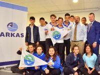 """""""Deniz- Çevre Eğitimleri"""" projesi  kapsamında lise öğrencilerine deniz bilinci öğretiliyor"""
