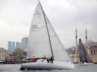 "İstanbul Boğazı'nda yılın ilk yarışı ""Huafon BAU Bosphorus Sailing Cup"" yapıldı"