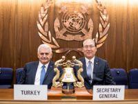 Başbakan Yıldırım, Uluslararası Denizcilik Örgütü Genel Sekreteri ile bir araya geldi