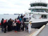 Engelliler ve aileleri için Boğaz'da tekne turu düzenlendi