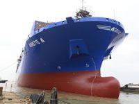 Arkas'a inşa edilen, M/V AURETTE A ve M/V ANDREA A isimli gemiler denize indirildi