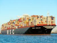 Dünyanın en büyük taşıma kapasiteli 6 konteyner gemisi, sahnede boy gösteriyor