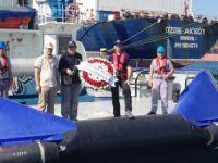 UZMAR Nemrut ve Akçansa Kılavuzluk Teşkilatları deniz şehitlerini andı