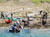 Çeşme'de deniz ve kıyı temizliği etkinliği gerçekleştirildi