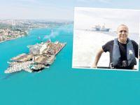 Dev gemiyi İstanbul Boğazı'ndan Kaptan Ali Cömert geçirdi