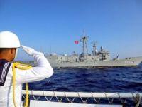 Şehit Teğmen Caner Gönyeli 2017 Arama Kurtarma Tatbikatı'nın deniz safhası tamamlandı
