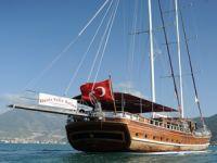 Deniz Felix Balina isimli Türk bayraklı gulet, Rodos Limanı'nda tutuklandı