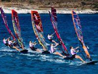 Rüzgar Sörfü Slalom Türkiye Ligi'nde geri sayım başladı