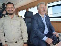 Ahmet Arslan Çıldır Gölü'ndeki iskele açılışına katıldı