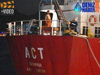M/V ACT'nin kaptanı Deniz Haber Ajansı'na özel açıklama yaptı