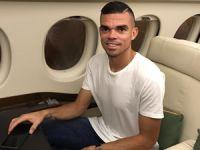 Portekizli futbolcu PEPE, Palmali Denizcilik'e ait özel uçakla İstanbul'a geldi
