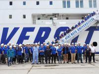 Piri Reis Üniversitesi Eğitim Gemisi Safiport Derince'ye yanaştı