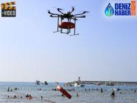 İstanbul'da plajlar drone'lara emanet