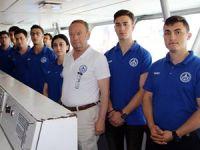 'Piri Reis Üniversitesi' Eğitim ve Staj Gemisi, Bandırma Limanı'na yanaştı